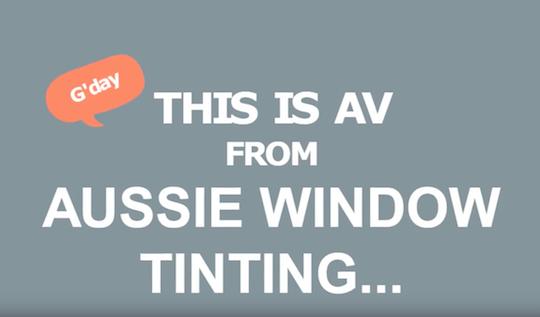 aussie-window-tinting-video